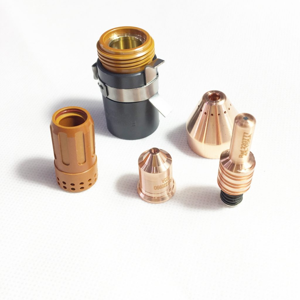 plasma cutting machine consumables